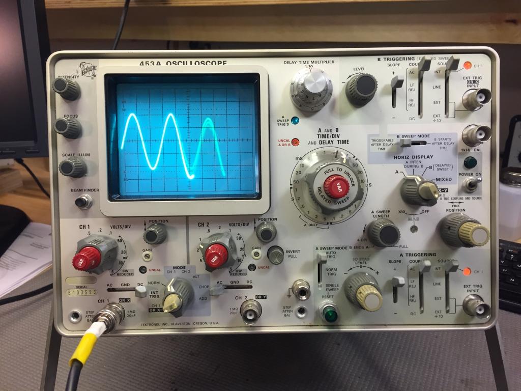 Otb Tektronix 453a Ku1w Ham Radio